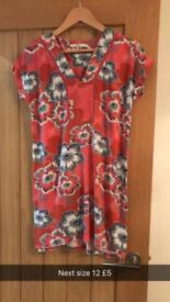 Red dress from next size 12