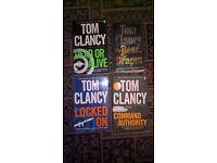 Tom Clancy - Jack Ryan Books x 4