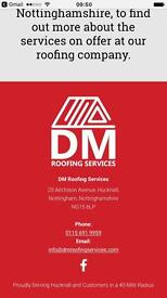 DM roofing services and repairs