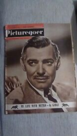 CLARK GABLE - PICTUREGOER X2 AND PICTURE SHOW X3 MAGAZINES