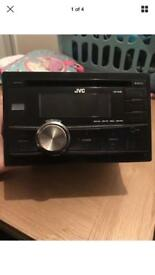 JVC KW R400 double din stereo