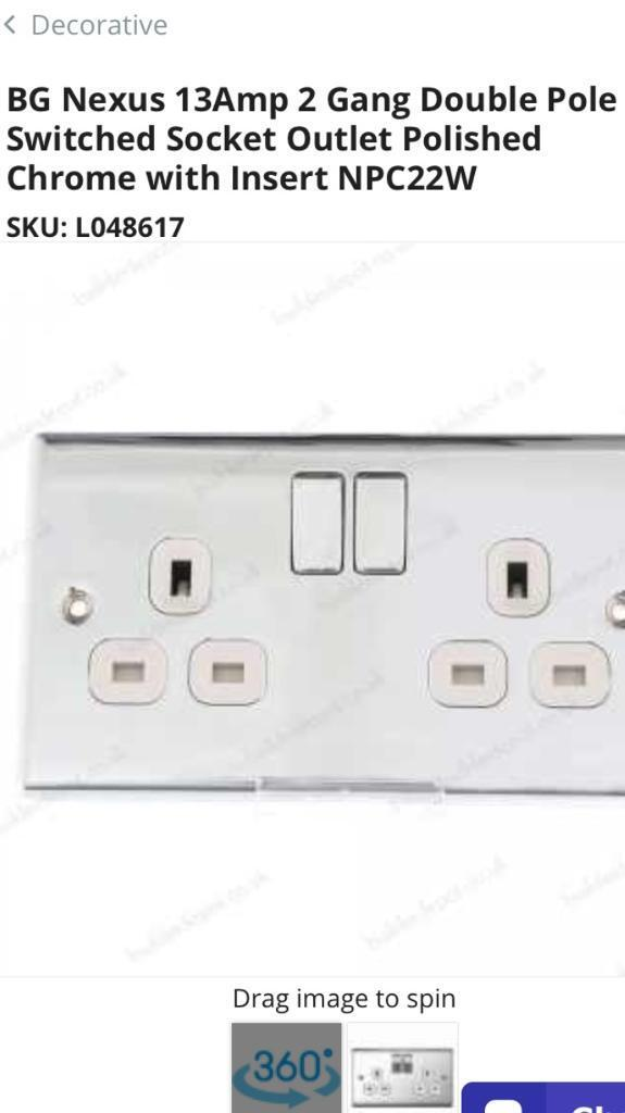 Double sockets