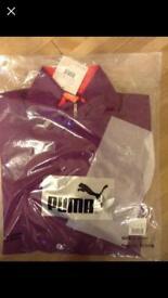 Brand new: women's purple running top