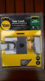 Yale door security locks