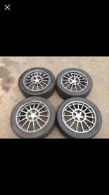 Mitsubishi evo 8 MR alloy wheels 250