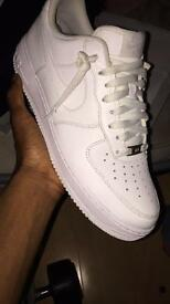 Nike Air Force (size 10) white