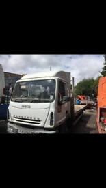 Iveco euro cargo 2003 tector flat bed breaking spares