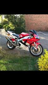 Yamaha R1. CBR, GSXR 1000cc not 4xv