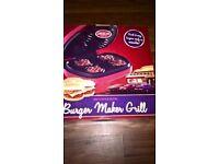 burgar maker grill new