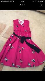 Joules dress aged 5