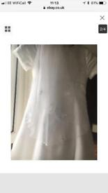 Emmerling First Communion dress with veil and petticoat