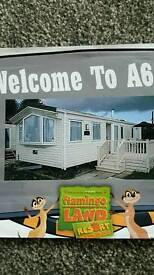 Caravan flamingoland Malton north yorkshire