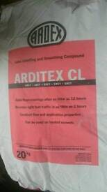 Ardex self levelling screed