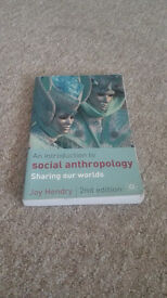 Used book - An Introduction to Social Anthropology: Sharing our world 2nd edition