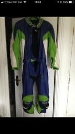 Motorcycle 100% leather suit