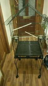 Various parrot and parakeets cages for sale
