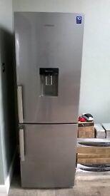 Samsung Silver Fridge Freezer with built in water dispenser (excellent condition)