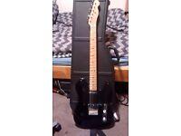 Fender Telecaster Baja Black + Hardcase