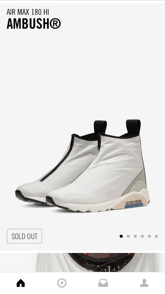ee01802b63 Nike x ambush air max 180 uk8.5 white | in Harlow, Essex | Gumtree
