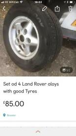 Land Rover aloys