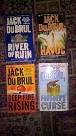 Jack Du Brul Books x 4