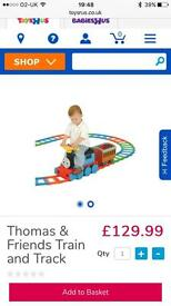 Thomas ride on with track