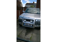 FRONTERA 2.2i RS SWAP FOR ESTATE OR VAN WITH REAR SEATS