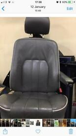 Range Rover L322 leather interior