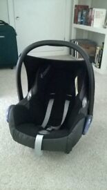 Cabriofix Car Seat, Isofix Base and adapters for Baby jogger pushchairs - £60