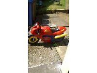 SPIDERMAN MOTOR BIKE.