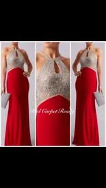 Red carpet ready prom dress
