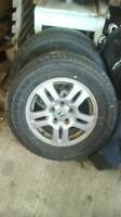 four all season tires on Honda rims