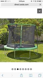 Sports pro 8ft trampoline for sale