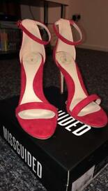 Red Heeled Sandals