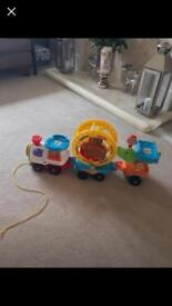 Vtech Toot Toot Train and Smart Point Animal Hamster Toy