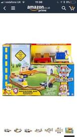 Paw patrol adventure railway train set used once only