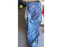 Jack Wolfskin Sleeping Bag - Large - Dark Blue - UNUSED