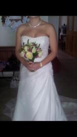 Ivory Wedding Dress - Size 12/14