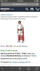 £10 for two Halloween fancy dress + free Bateman mask