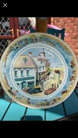 Ringtons collectors plate seaside £5