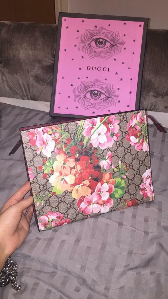 b783e1b107915c Gucci blossom floral pouch | in Hampstead, London | Gumtree
