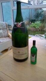 Champagne Balthazar Bottle (empty) , looks lovely for interior decor.