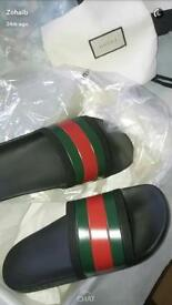 SIZE 11 GUCCI SLIDES FOR 150£