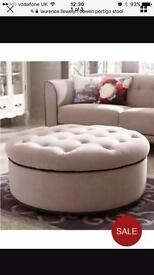 Ottoman, foot stool, coffee table,