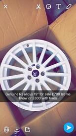 "Genuine rs alloys 19"""