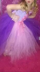 Girls custome made dress