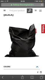 XL Waterproof Fatboy Bean Bag Outdoor Or Indoor Black Not Buddabag RRP 159.95