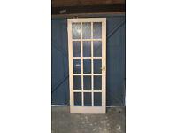 iNTERNAL DOORS. 8 Premdor Sapele Doors and 2 glazed doors. Premdor £10 each, Glazed £25