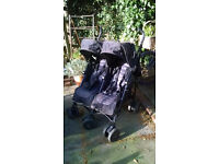 Mamas and Papas Vouyage Double Buggy Pushchair