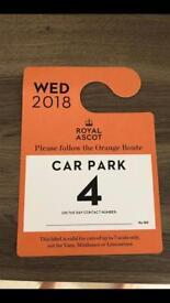 Royal ascot parking
